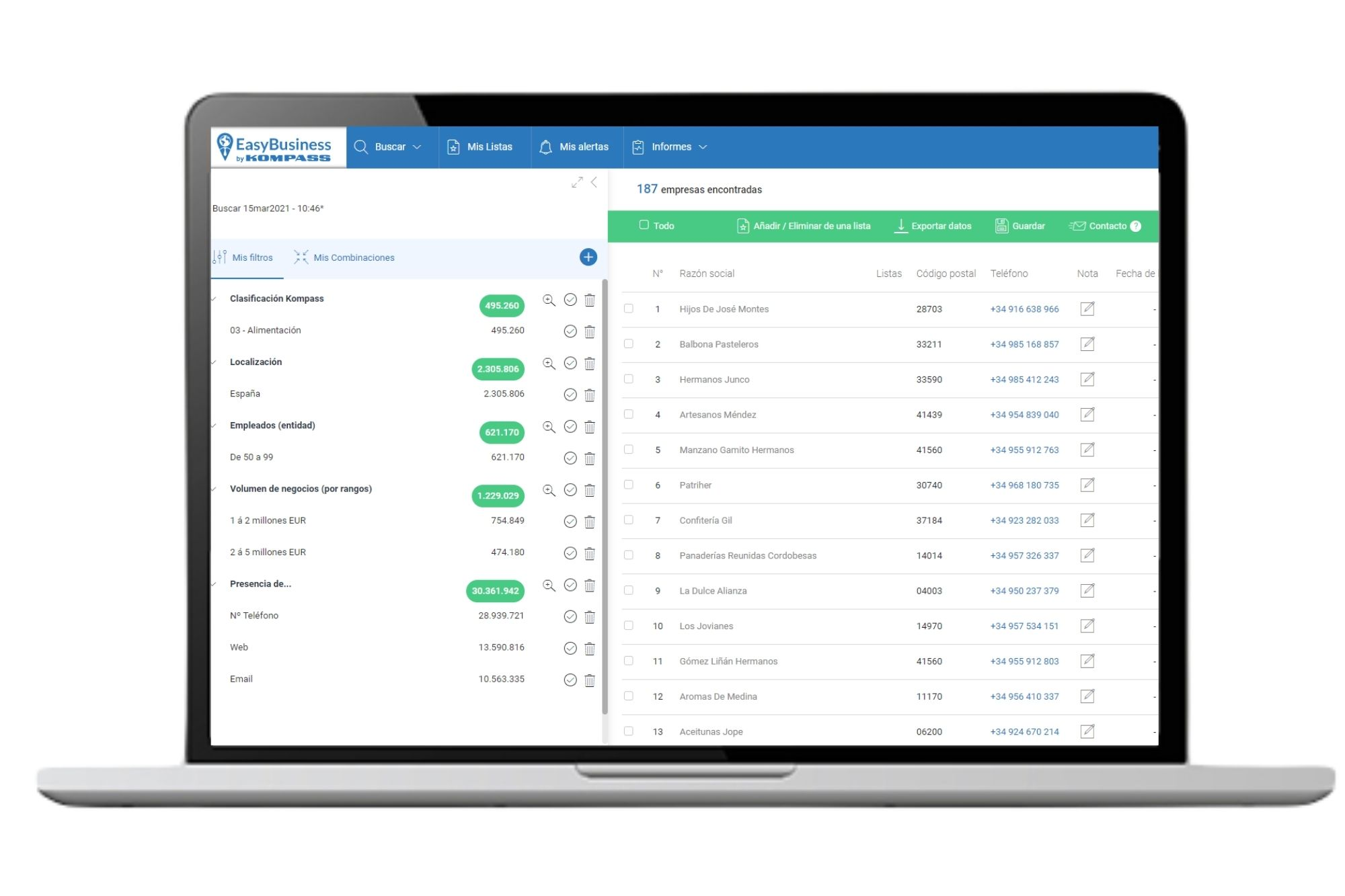 Cómo mejorar tu proceso de captación de clientes: EasyBusiness by Kompass