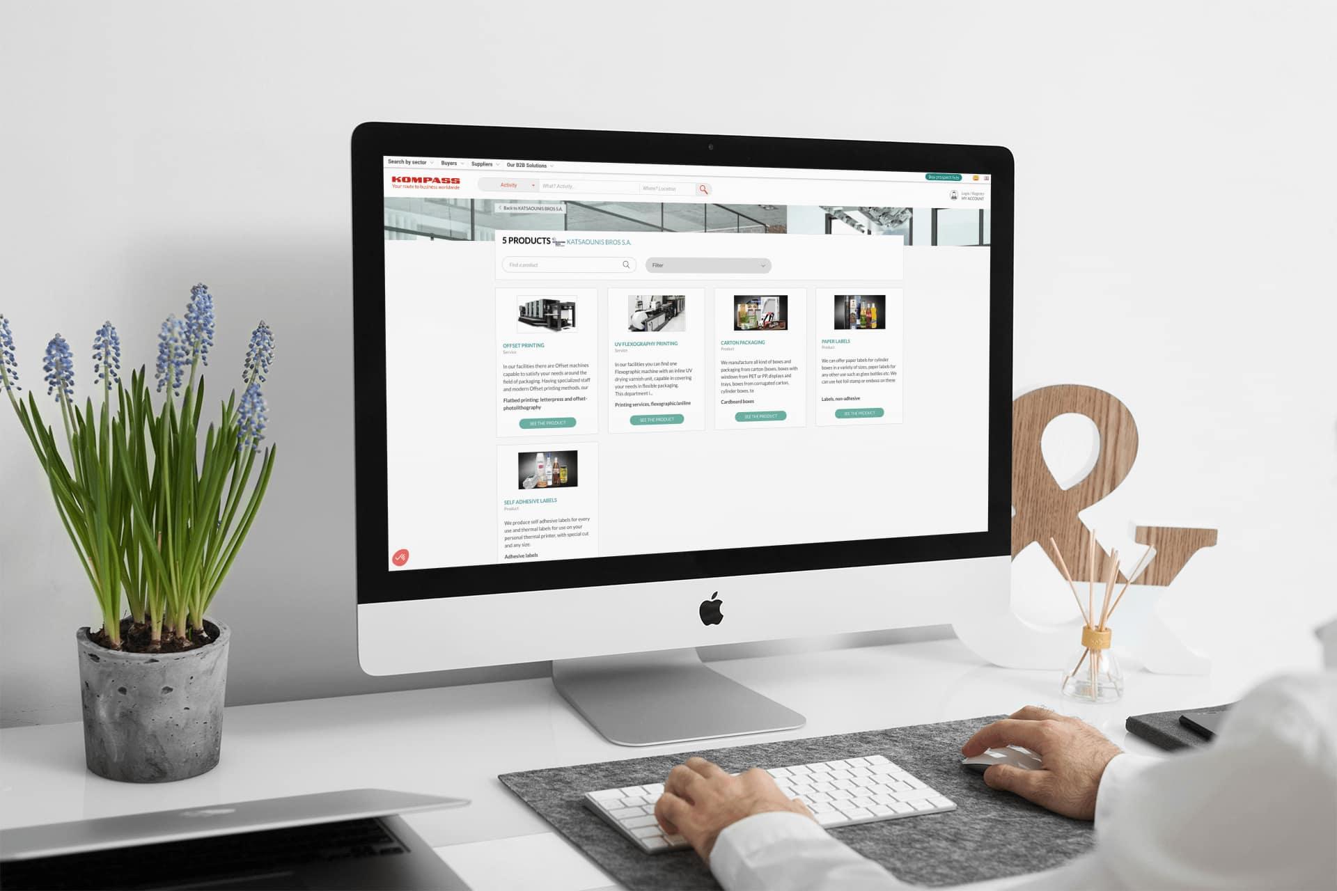 Muestra los productos de tu empresa en Kompass
